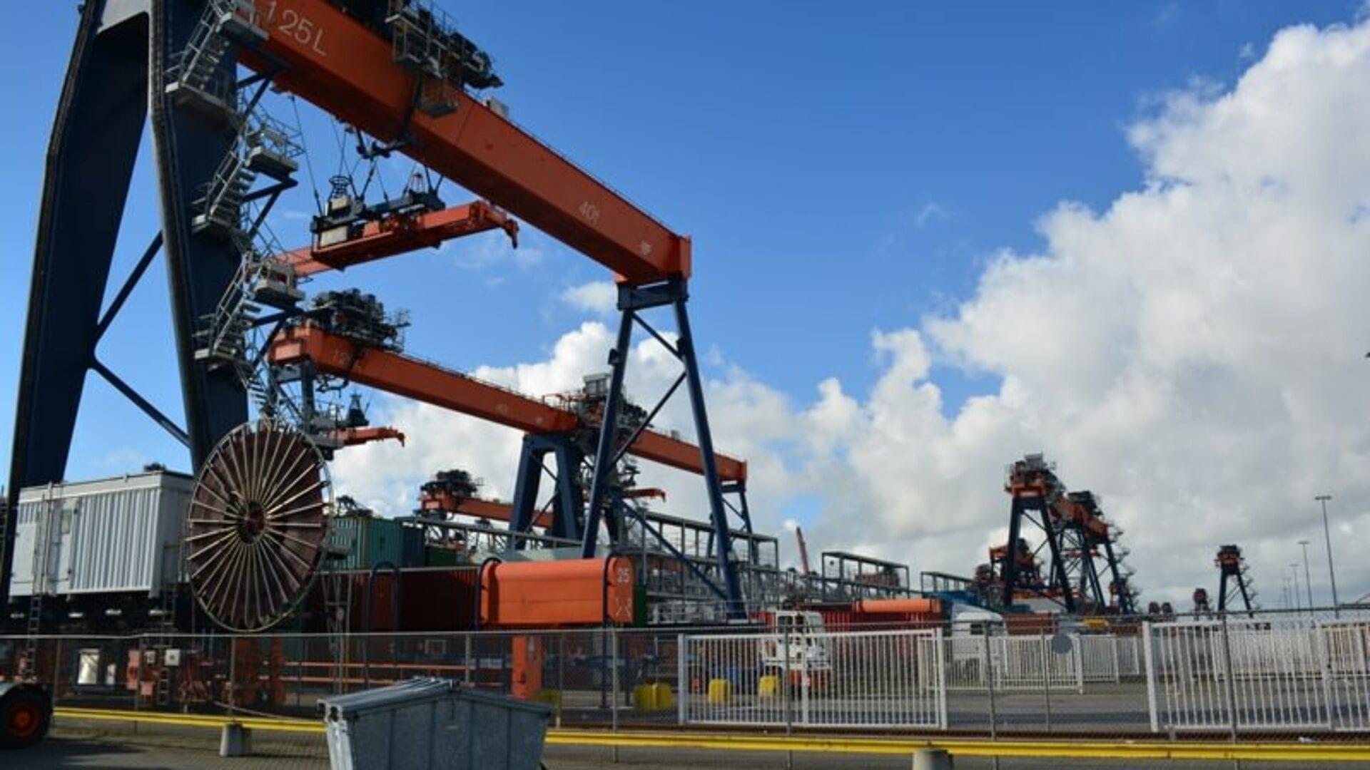 Nahezu keine Ausfälle der Hafenkräne mehr