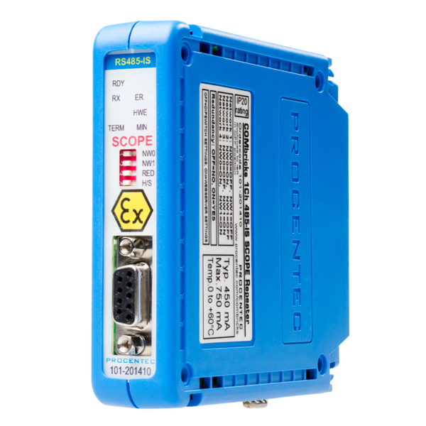 combricks RS 485-IS SCOPE Repeater modul
